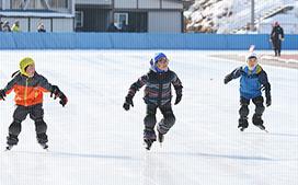 スピードスケート体験教室